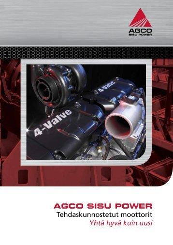 Tehdaskunnostetut moottorit esite.pdf - AGCO Power