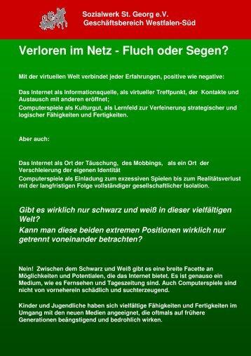 Anliegen Fachtagung - Sozialwerk St. Georg