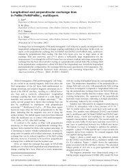 Longitudinal and perpendicular exchange bias in FeMnŐ ...