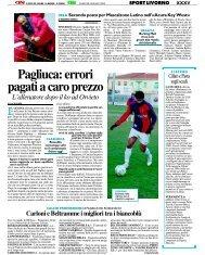 28/01/2008 Campionato 22a Giornata: Girone E - serie d news