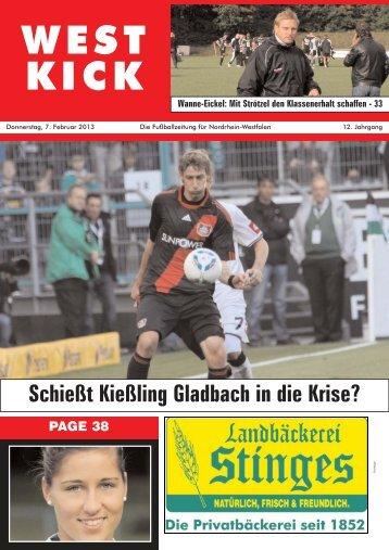 WEST KICK - Spvg Wesseling-Urfeld 19/46 eV