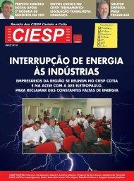 INTERRUPÇÃO DE ENERGIA àS INDÚSTRIAS