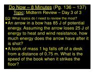 2014-02-07 - Midterm Review - Day 3 of 3 - CW