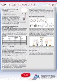 Dekorative LED - Scharnberger + Hasenbein Elektro GmbH