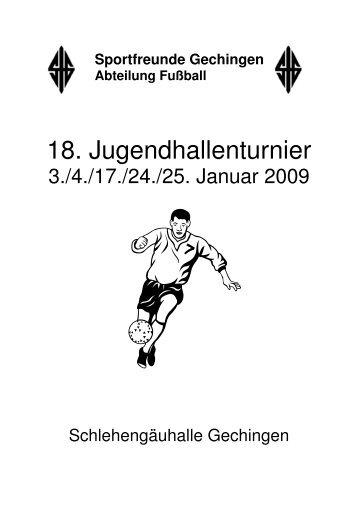 18. Jugendhallenturnier - SFG Fussball
