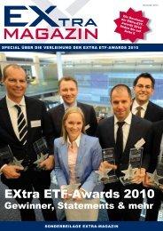eXtra etF-awards 2010 - EXtra-Magazin