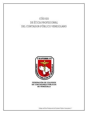 Código de Etica Profesional del Contador Público - Bienvenidos al ...