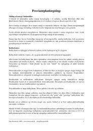 Download vejledning i proviantplanlægning - Leder