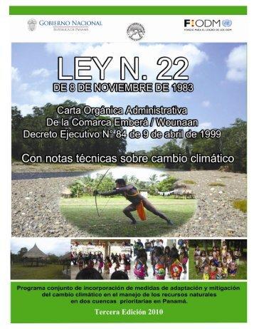 Publicado en Gaceta Oficial Nº 23776 - Programa de Naciones ...