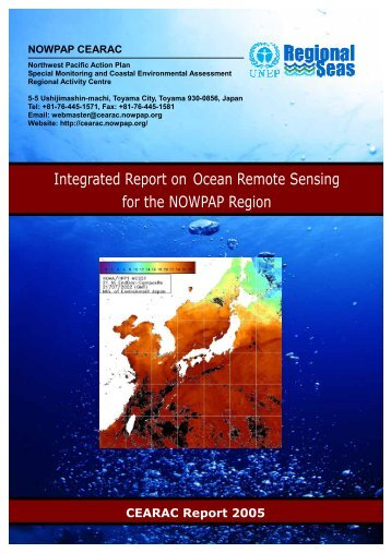 Integrated Report on Ocean Remote Sensing for the NOWPAP Region