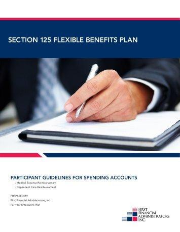 SECTION 125 FLEXIBLE BENEFITS PLAN