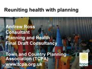 Reuniting health with planning