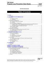DS 6-23 Watertube Boilers (Data Sheet) - FM Global