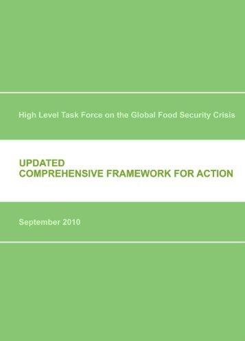 Updated Comprehensive Framework for Action, September ... - FAO