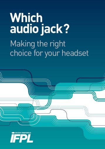 Which Audio Jack? - AVID Airline Products