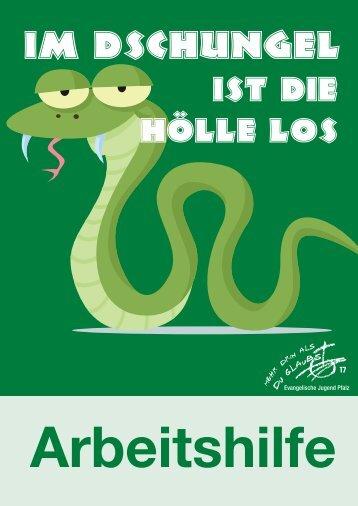 Broschüre Im Dschungel ist die Hölle los - welt-veraendern.de