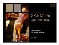Latin America - SABMiller