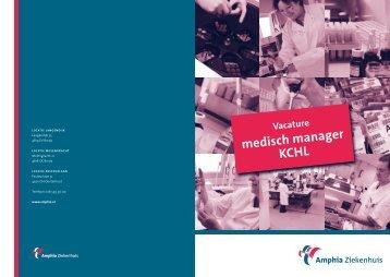medisch manager kchl - NVKC
