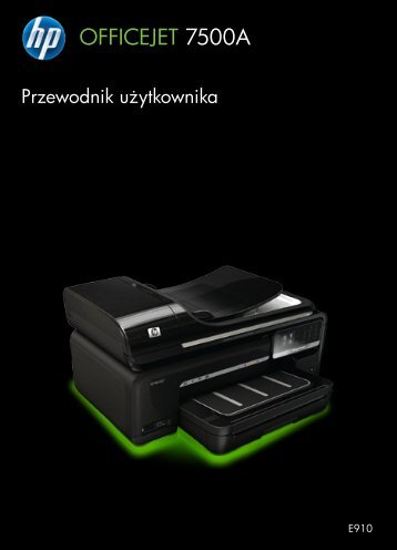 HP Officejet 7500A (E910) e-All-in-One series User Guide – PLWW
