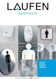Urinals Urinale Urinoirs Urinoirs - Laufen