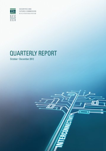 Quarterly Report - Securities & Futures Commission of Hong Kong