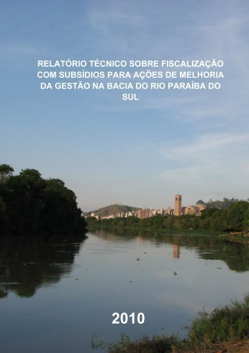 RELATÓRIO TÉCNICO SOBRE FISCALIZAÇÃO COM ... - ceivap