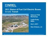 2011 Status of Fuel Cell Electric Buses in U.S. Transit - International ...