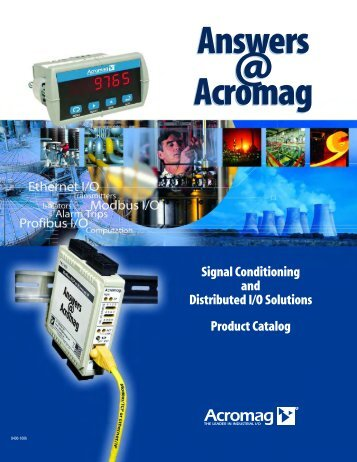 Acromag I/O Solutions - Mercado-ideal