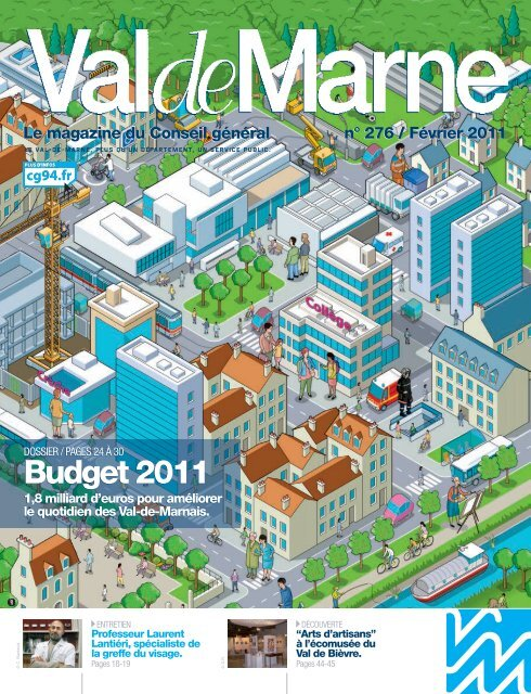 ValdeMarne n°276 / Février 2011 - Conseil général du Val-de-Marne