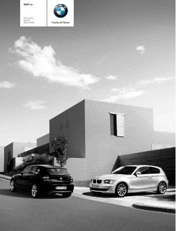 Preisliste (2008) BMW 1er - bmwarchiv.de