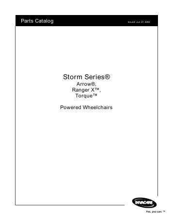 Storm Series® - Invacare