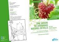 Une saison De jarDinage natUrel en ville - Conseil général du Val ...
