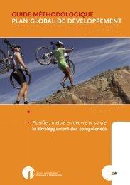 guide méthodologique plan global de développement - Fedweb