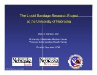 Research Synopsis - UNMC
