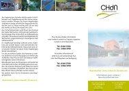 Besucherinformationen Reanimation / Intensivstation ... - CHdN