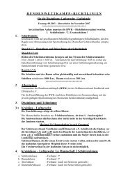 RWK-Richtlinien - Schützenverband Nordheide & Elbmarsch eV