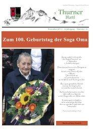 Ausgabe November 2011 - Gemeinde Thurn