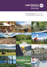 Annual Report 2010 to 2011 - Lake District National Park
