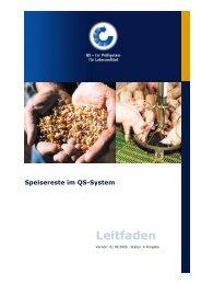 Speisereste im QS-System Leitfaden - Eichenhof