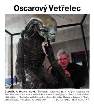 Vetr(elce poprvé vystavuje v Praze - the little HR Giger Page