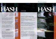 Værd at vide om hash - Sundhedsstyrelsen