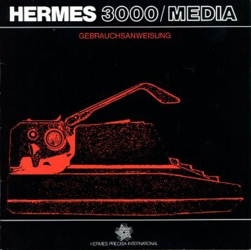 Hermes 3000/Media - typewriters.ch