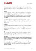Kurzanleitung - Avira Internet Security 2012 Firewall - Seite 4