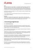 Kurzanleitung - Avira Internet Security 2012 Firewall - Seite 5