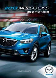 2013 CX-5 Smart Start Guide - Sentry Auto Group