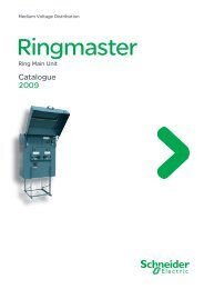 Catalogue Ringmaster Part 1 - Schneider Electric