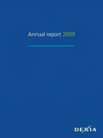 Annual report 2009 - Dexia.com