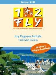 12FLY - Joy Hotels - Sommer 2009 - tui.com - Onlinekatalog