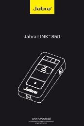 Jabra link™ 850 User manUal - Avcomm Solutions Inc.