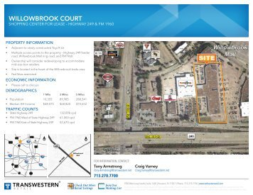 WILLOWBROOK COURT - Transwestern